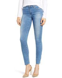 AG Jeans - The Prima Raw Hem Cigarette Jeans - Lyst