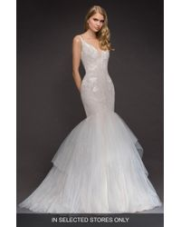 89e4c18d458c BLUSH BY HAYLEY PAIGE West Mermaid Gown - Lyst