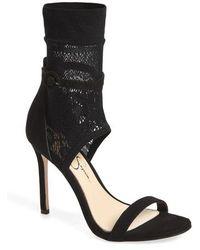 Jessica Simpson - Jaxelle Sock Sandal - Lyst