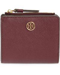 Tory Burch - Robinson Mini Leather Wallet - Lyst