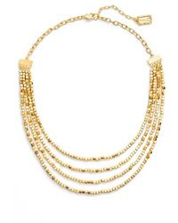 Karine Sultan - Ava Collar Necklace - Lyst
