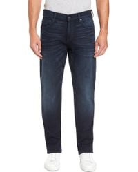 7 For All Mankind - 7 For All Mankind Carsen Straight Leg Jeans - Lyst