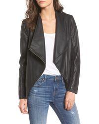 BB Dakota - Gabrielle Faux Leather Asymmetrical Jacket - Lyst