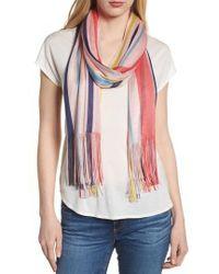 Echo - Cabana Stripe Silk Scarf - Lyst