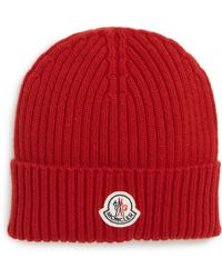 ee3f90cb2 Moncler Berretto Cashmere Beanie in Gray for Men - Lyst