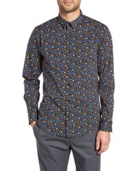 The Rail Horoscope Sport Shirt - Blue