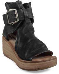 A.s.98 - Naya Wedge Sandal - Lyst
