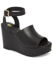 BC Footwear - Admit One Platform Wedge Sandal - Lyst