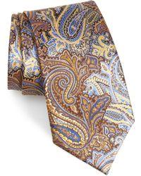 3c89f725 Quindici Paisley Silk Tie - Yellow