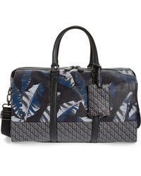 Ted Baker Printed Weekend Bag - Blue