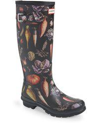 HUNTER Original Tall Rain Boot - Black
