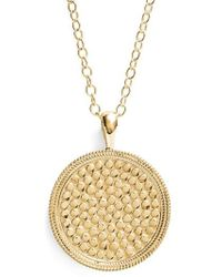 Anna Beck - 'gili' Pendant Necklace - Lyst