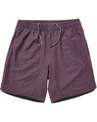 Rhone Guru Athletic Shorts - Purple