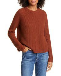 Jenni Kayne - Cashmere Fisherman Sweater - Lyst