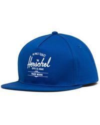 Herschel Supply Co. Whaler Snapback Baseball Cap - Blue