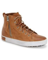 Blackstone | KL57 Leather High-Top Sneakers | Lyst
