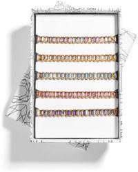 BaubleBar Alidia Bracelet Gift Set - Metallic