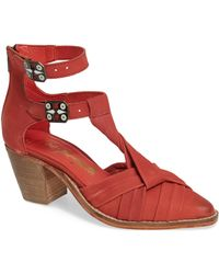 Free People - Canosa Cutout Bootie - Lyst