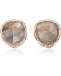 Monica Vinader - 'siren' Semiprecious Stone Stud Earrings - Lyst