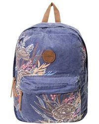 O'neill Sportswear - Blazin Floral Print Backpack - Lyst