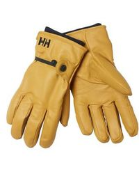 Helly Hansen - Vor Leather Gloves - Lyst