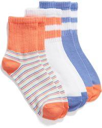 Make + Model - 3-pack Tube Socks, Grey - Lyst