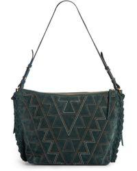 Isabel Marant - Osun Stitched Suede Shoulder Bag - - Lyst