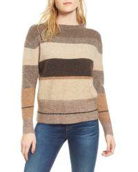 James Perse - Stripe Sweater - Lyst