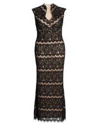 Marina - Lace Empire Gown - Lyst