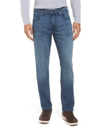 PAIGE   Transcend - Federal Slim Straight Fit Jeans   Lyst