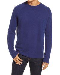 Nordstrom 1901 Crewneck Cashmere Sweater - Blue