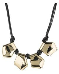 Alexis Bittar - Folded Metal Knot Necklace - Lyst