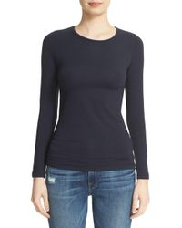 Majestic Filatures - Long Sleeve Crewneck Top - Lyst