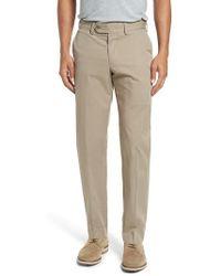 Bills Khakis | Straight Fit Travel Twill Trousers | Lyst