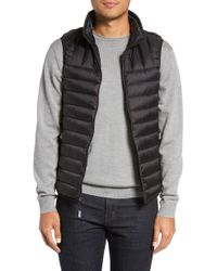 Tumi - Packable Down Vest, Black - Lyst