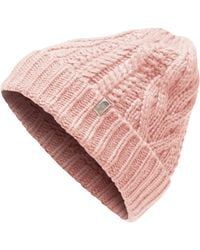 The North Face - Cable Minna Beanie - Lyst