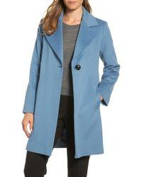 Fleurette | Single Button Wool Coat | Lyst