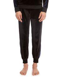 2xist Velour Jogger Pants - Black