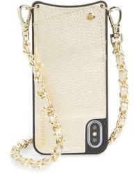 edeffcac3b3c Michael Kors Black Iphone Clutch Bag in Black - Lyst