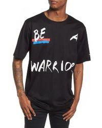 Antony Morato - Be Warrior Graphic T-shirt - Lyst