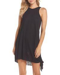Becca Breezy Basics Cover-up Dress - Black