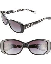 88007e02af0d COACH Badlands Sunglasses in Black - Lyst