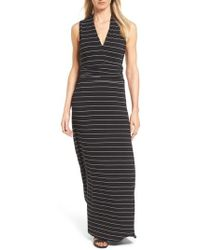 Vince Camuto | Stripe Maxi Dress | Lyst
