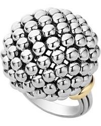 Lagos - 'caviar Forever' Large Dome Ring - Lyst