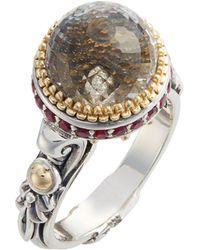 Konstantino - Pythia Small Crystal Ring - Lyst
