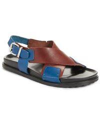 Sofie D'Hoore - Bicolor Strappy Sandal - Lyst