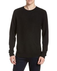 Calibrate - Honeycomb Crewneck Sweater - Lyst