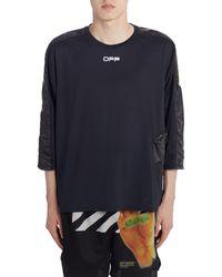 Off-White c/o Virgil Abloh Jogging T-shirt - Black