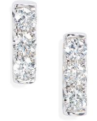 Bony Levy - Diamond Bar Stud Earrings (nordstrom Exclusive) - Lyst
