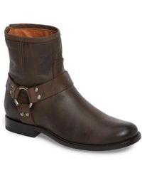 Frye   Phillip Harness Boot   Lyst